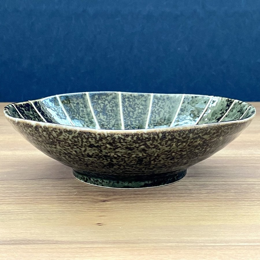 鉢 ボウル 盛鉢 おしゃれ ボール 十草 浅鉢 17cm 深皿 盛皿 お皿 食器 陶器|minopota|13