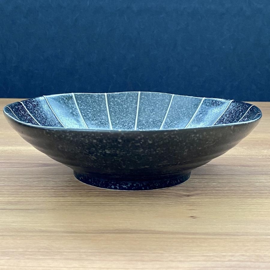 鉢 ボウル 盛鉢 おしゃれ ボール 十草 浅鉢 17cm 深皿 盛皿 お皿 食器 陶器|minopota|19