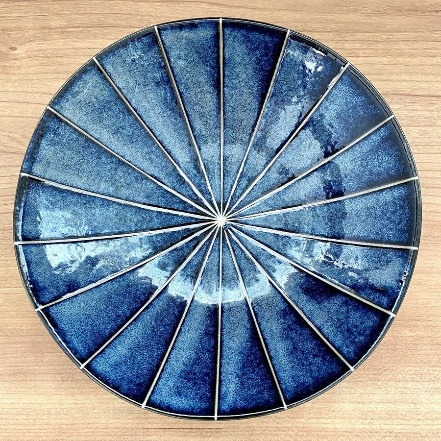 鉢 ボウル 盛鉢 おしゃれ ボール 十草 浅鉢 17cm 深皿 盛皿 お皿 食器 陶器|minopota|08