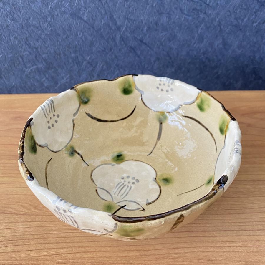 中鉢 おしゃれ 食器 格子花5.0鉢 陶器 盛鉢 美濃焼 |minopota|03