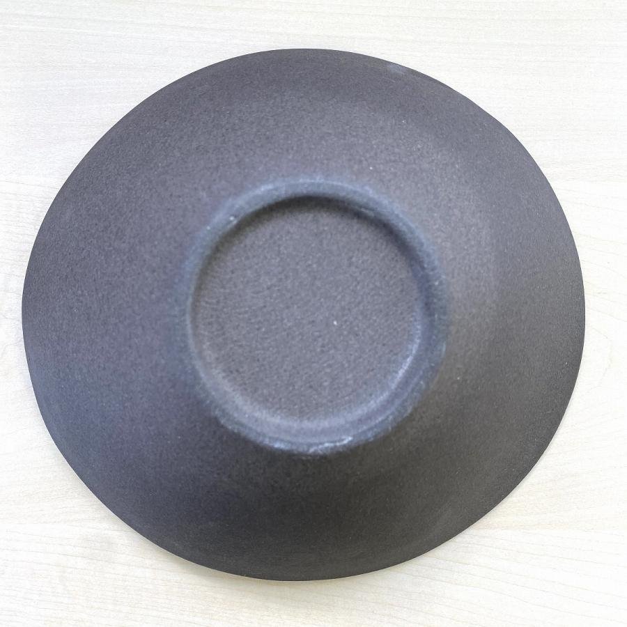鉢 ボウル 盛鉢 おしゃれ ボール 金流したわみ 中鉢 17.3cm 盛皿 皿 食器 陶器 minopota 04