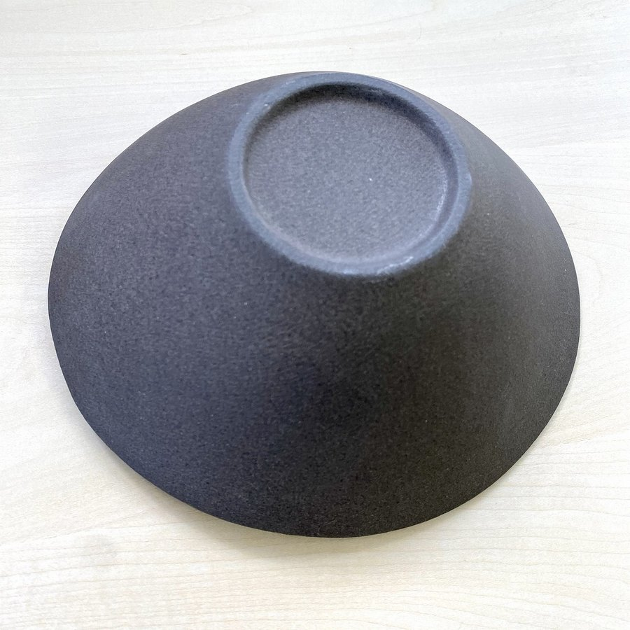 鉢 ボウル 盛鉢 おしゃれ ボール 金流したわみ 中鉢 17.3cm 盛皿 皿 食器 陶器 minopota 05