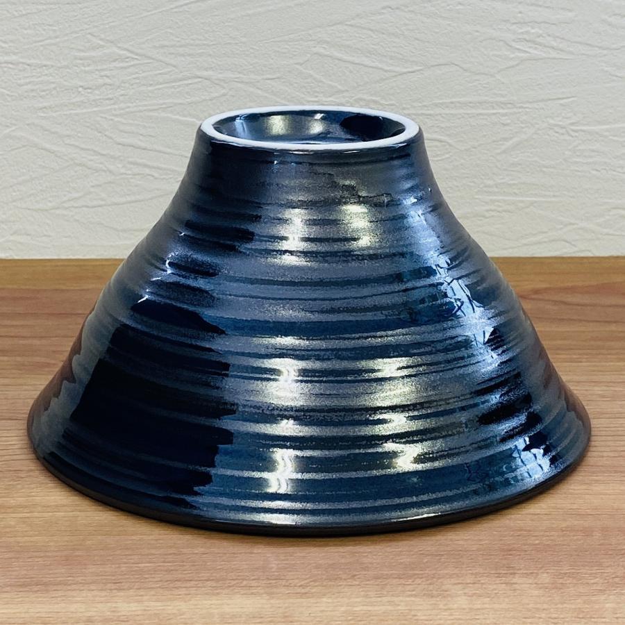 丼 どんぶり ボウル おしゃれ 刷毛巻銀彩 そり丼 18.6cm ラーメン うどん 鉢 ボール 食器 陶器 minopota 04