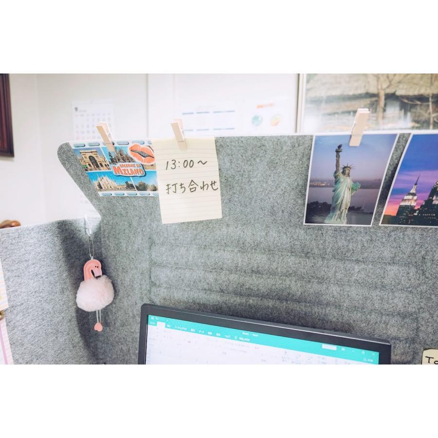 ミノリ・テーブル・パーテーション 無敵のプライベート空間 防音対策 飛沫防止 (約)幅88cm×奥行53cm×高さ55cm 重量1.75kg|minori-kogyo|15
