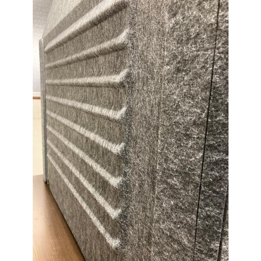 ミノリ・テーブル・パーテーション 無敵のプライベート空間 防音対策 飛沫防止 (約)幅88cm×奥行53cm×高さ55cm 重量1.75kg|minori-kogyo|16