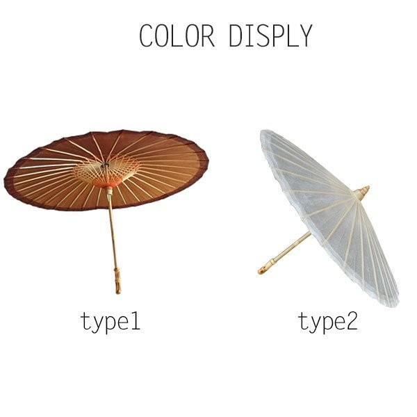 傘和傘番傘紙傘舞踊傘唐傘和装和風晴雨兼用長傘小道具 minto 02