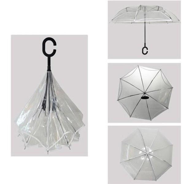 逆さ傘傘晴雨兼用透明花さかさ傘さかさかささかさま傘レディースメンズ日焼け対策UVカット逆向き逆さまの傘長傘濡れない minto 08