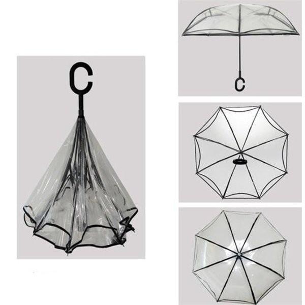 逆さ傘傘晴雨兼用透明花さかさ傘さかさかささかさま傘レディースメンズ日焼け対策UVカット逆向き逆さまの傘長傘濡れない minto 09