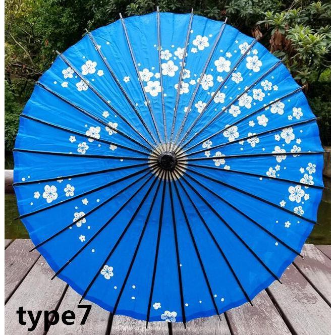 傘和傘番傘紙傘舞踊傘唐傘和装和風晴雨兼用長傘 minto 12