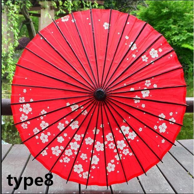 傘和傘番傘紙傘舞踊傘唐傘和装和風晴雨兼用長傘 minto 13