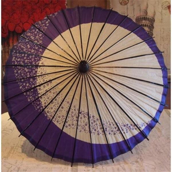 傘和傘番傘紙傘舞踊傘唐傘和装和風晴雨兼用長傘 minto 03