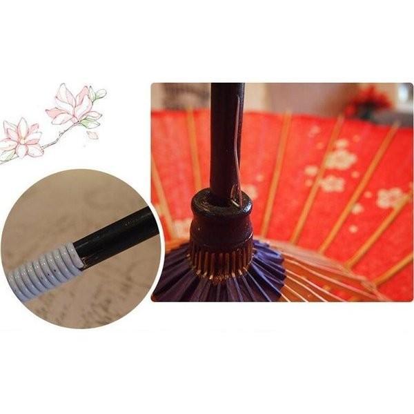 傘和傘番傘紙傘舞踊傘唐傘和装和風晴雨兼用長傘 minto 06