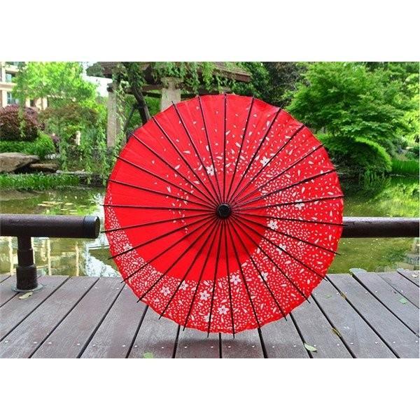 傘和傘番傘紙傘舞踊傘唐傘和装和風晴雨兼用長傘 minto 08