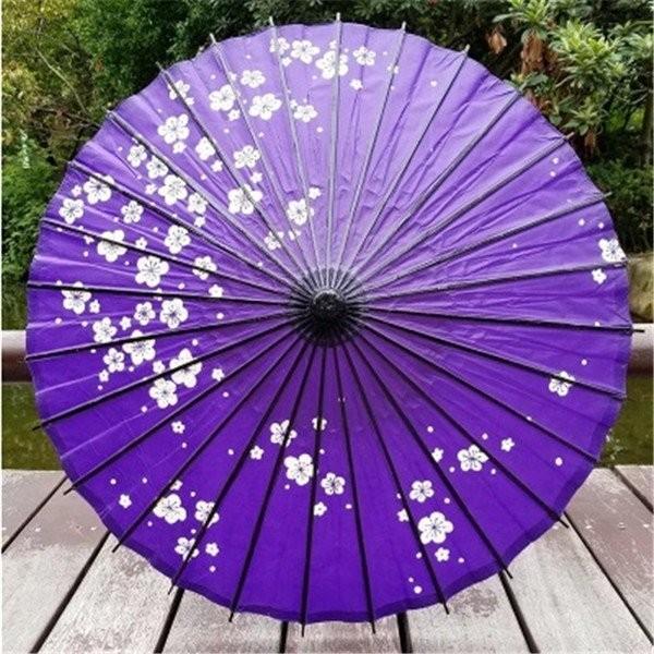 傘和傘番傘紙傘舞踊傘唐傘和装和風晴雨兼用長傘 minto 10