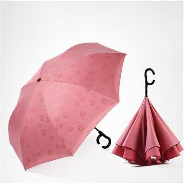 傘逆さ傘晴雨兼用UVカット遮光レディースメンズ日傘男女兼用さかさま傘逆さま傘逆向き逆さまの傘折りたたみ自動開閉おしゃれ折りたたみ傘|minto|03