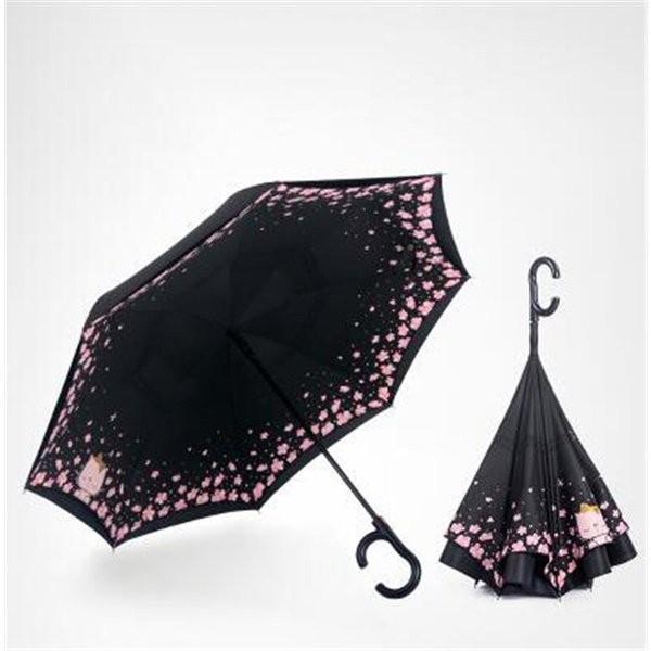 傘逆さ傘晴雨兼用UVカット遮光レディースメンズ日傘男女兼用さかさま傘逆さま傘逆向き逆さまの傘折りたたみ自動開閉おしゃれ折りたたみ傘|minto|04