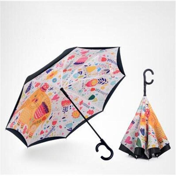 傘逆さ傘晴雨兼用UVカット遮光レディースメンズ日傘男女兼用さかさま傘逆さま傘逆向き逆さまの傘折りたたみ自動開閉おしゃれ折りたたみ傘|minto|05