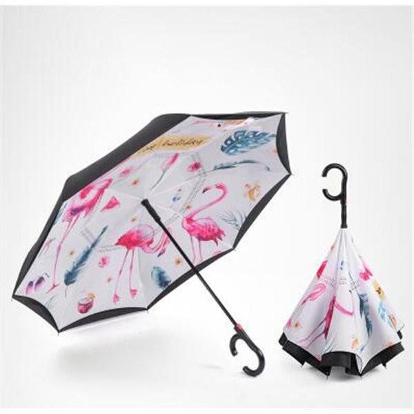 傘逆さ傘晴雨兼用UVカット遮光レディースメンズ日傘男女兼用さかさま傘逆さま傘逆向き逆さまの傘折りたたみ自動開閉おしゃれ折りたたみ傘|minto|06
