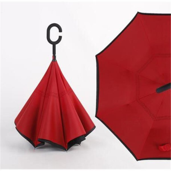 逆さ傘長傘メンズレディースさかさま傘逆折り傘遮光遮熱逆向き長傘逆さま傘晴雨兼用UVカット男女兼用日傘|minto|14