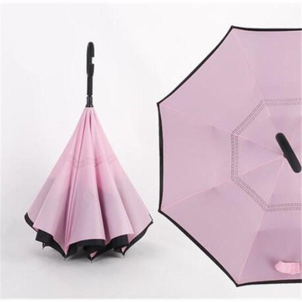 逆さ傘長傘メンズレディースさかさま傘逆折り傘遮光遮熱逆向き長傘逆さま傘晴雨兼用UVカット男女兼用日傘|minto|15