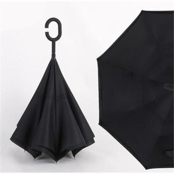 逆さ傘長傘メンズレディースさかさま傘逆折り傘遮光遮熱逆向き長傘逆さま傘晴雨兼用UVカット男女兼用日傘|minto|16