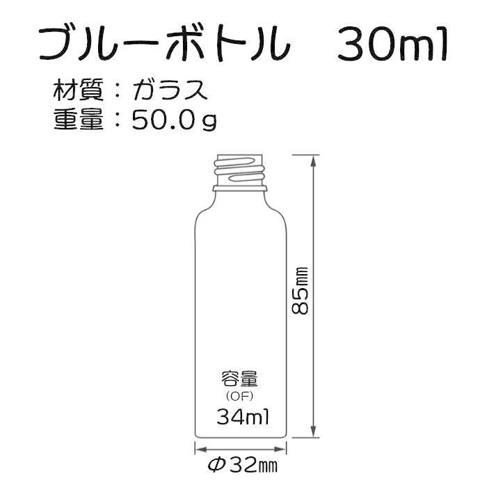 ブルー遮光瓶 30ml|miracle-box|02
