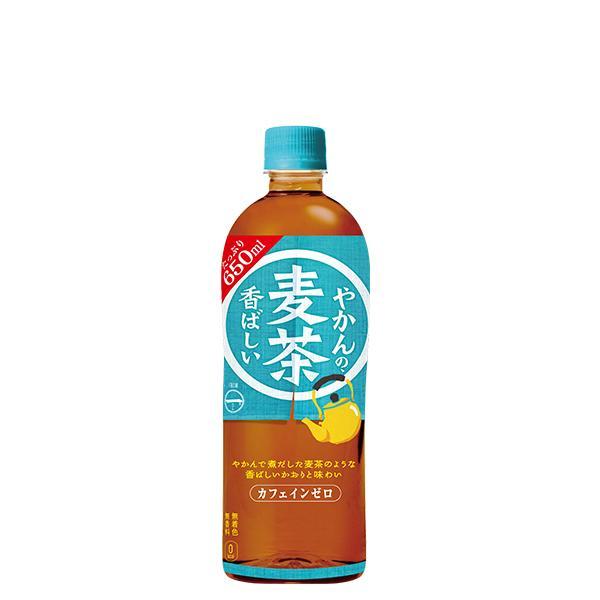 やかんの麦茶 from 一(はじめ) 650ml ペットボトル 1ケース 24本入 お茶 コカコーラ Coca Cola メーカー発送 miraishico 19