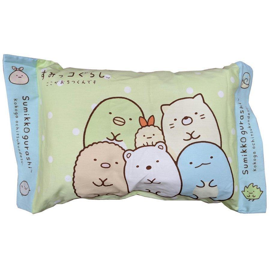 キャラクター枕 出荷 すみっコぐらし 枕 まくら マクラ 洗える枕 キャラクター とかげ ジュニア枕 子供 しろくま ペンギン 希望者のみラッピング無料 エビフライのしっぽ