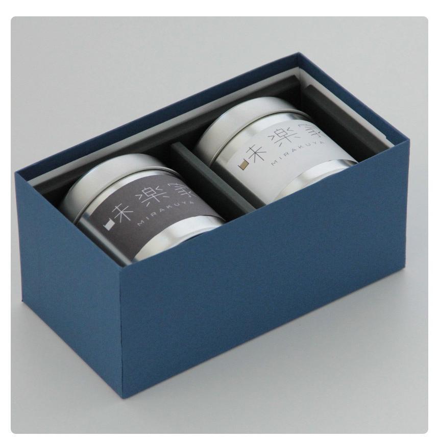 【送料無料】 お茶ギフト 味楽家の2種類のお茶セット 碧玉 特上熱湯出し玉露|mirakuya-net|04