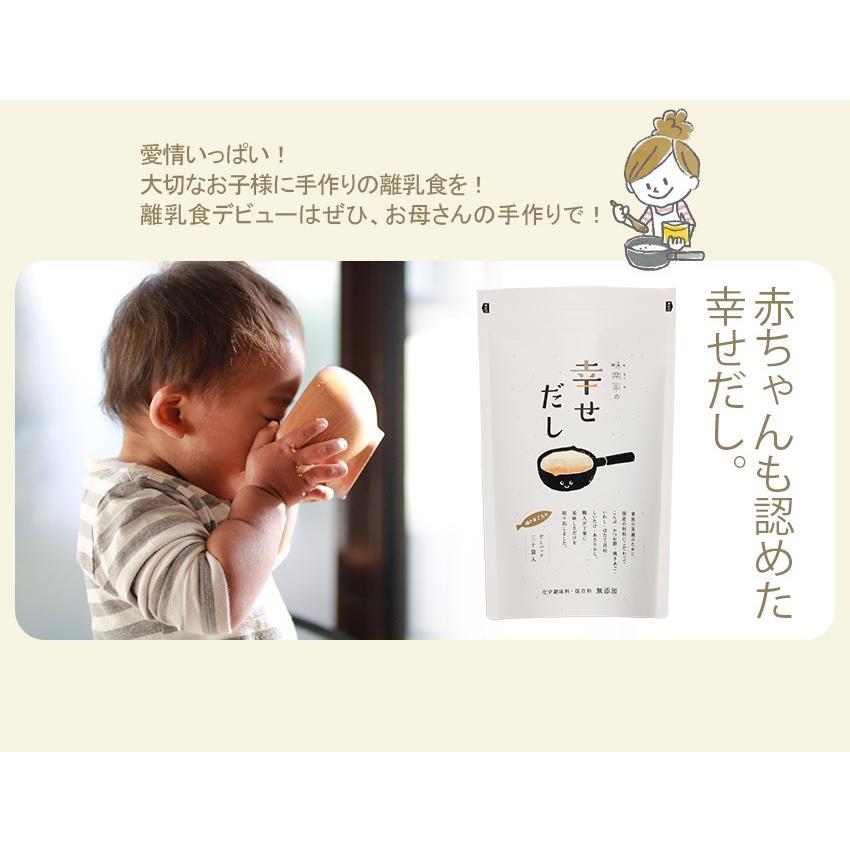 あごだし だしパック 離乳食はじめませんか? 味楽家の幸せだし 30袋入 離乳食 無添加 地産地消 mirakuya-net 10