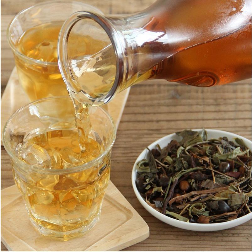 味楽家 草健寿 500g どくだみ、キダチアロエ、はと麦、あまちゃづる、浜茶、柿の葉、大豆、はぶ茶、ウーロン茶|mirakuya-net|05