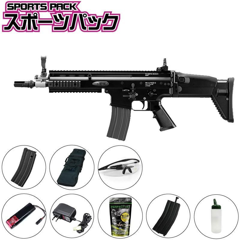 【東京マルイ】次世代 SCAR-L CQC BK スポーツパック
