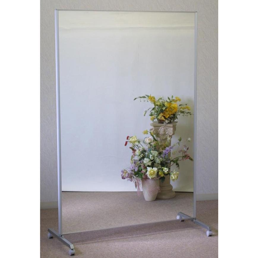 鏡 全身 スタンドミラー 全身鏡 大型ミラー ダンスミラー 姿見 キャスター付き 幅120 高さ180|mirror-eames|06