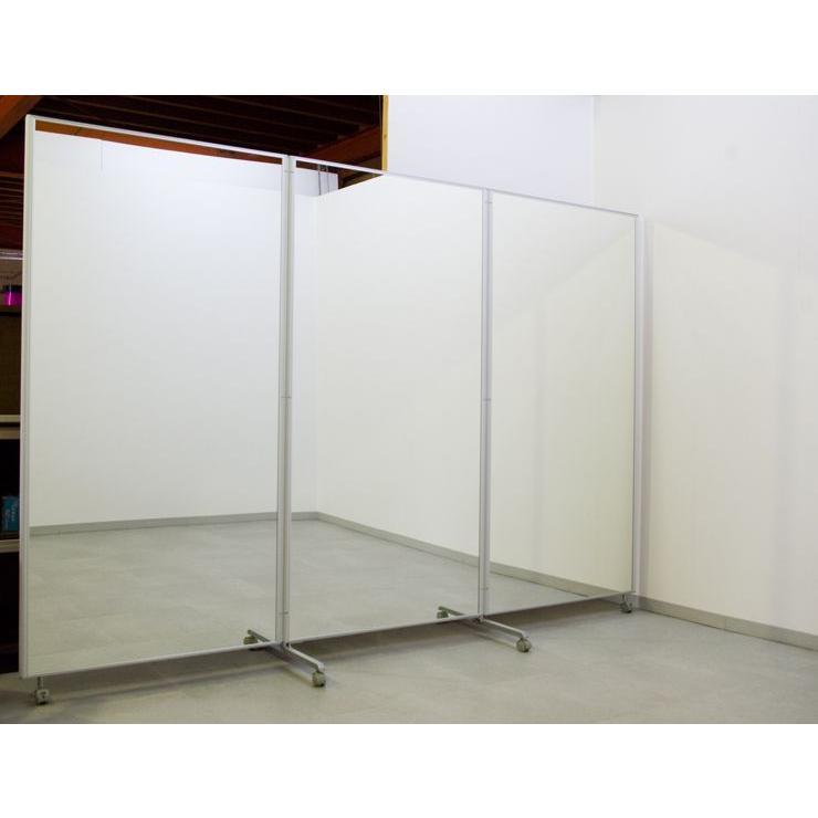 鏡 全身 大型ミラー 全身鏡 ダンスミラー スタンドミラー 折りたたみ 姿見 幅2700 高さ1800|mirror-eames|05