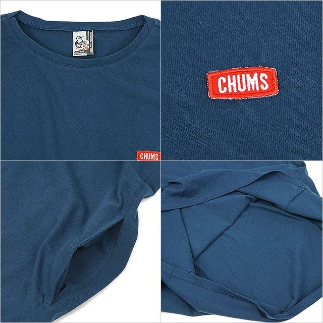 チャムス CHUMS レディース ボートロゴ ドレス W Boat Logo Dress CH18-1140 SS20 トップス 半袖 ワンピース mischiefstyle 04