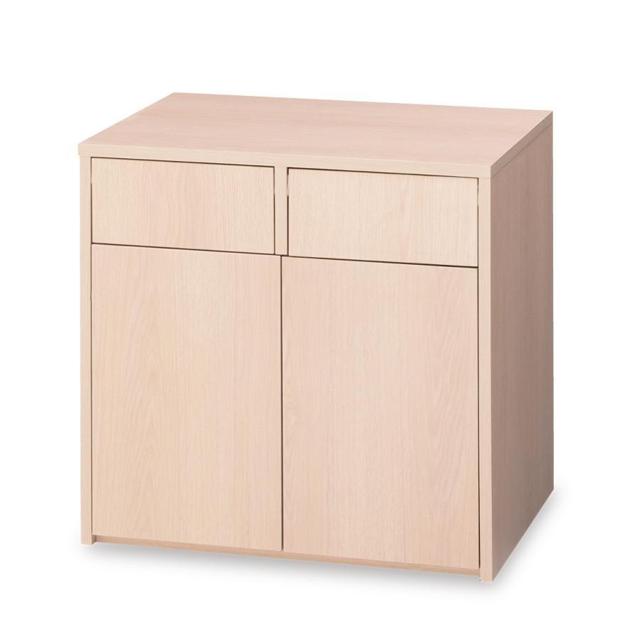 2口ダストNW BR-NW-2D(C-030NW) ダストボックス 荷物置き  木製【商品代引き不可】【個人宅配送不可】【送料無料】