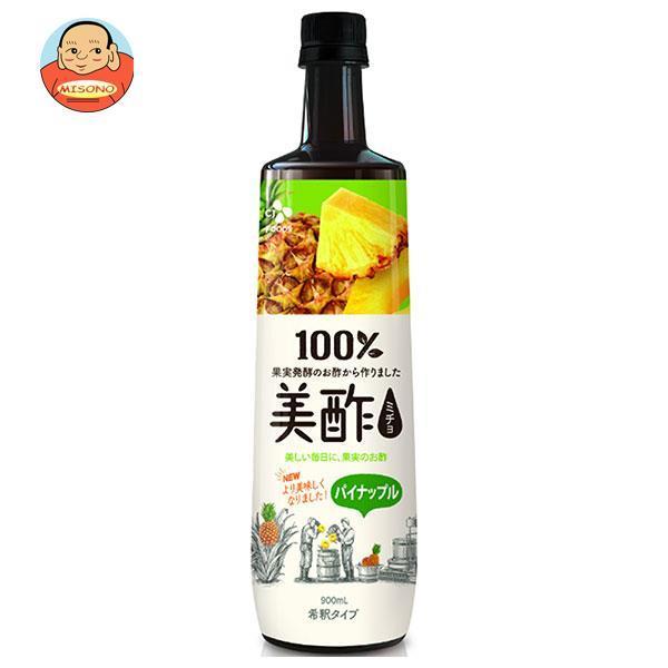 CJジャパン プティチェル 美酢(ミチョ) パイナップル 900mlペットボトル×12本入
