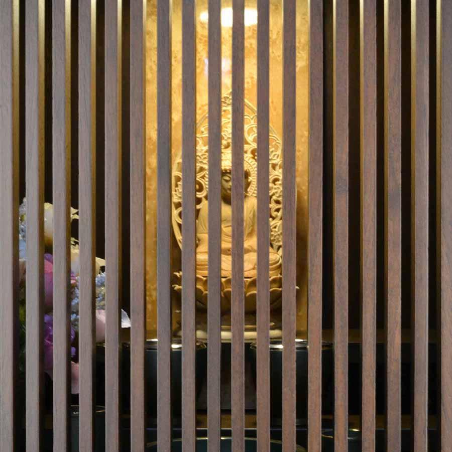 仏壇 モダン ミニ仏壇 ときわ 上置き型 18号 日本製 メープル アガチス おしゃれ スタイリッシュ 送料無料|misuhei|11