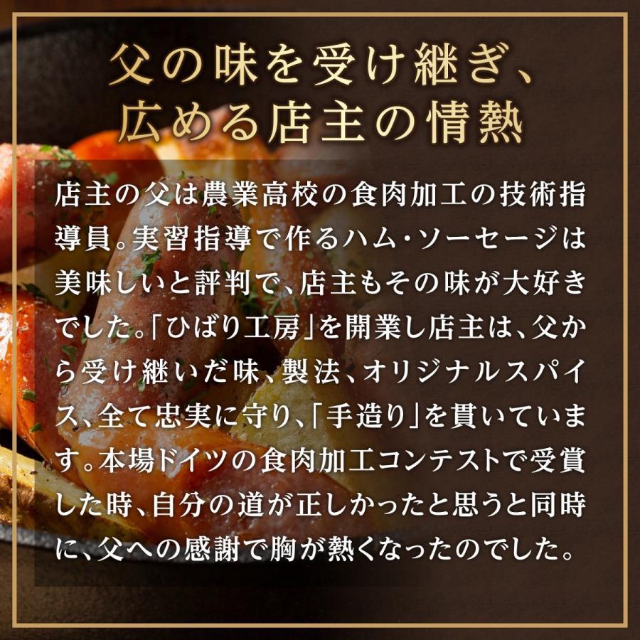 熊本 阿蘇 ギフト ハム ベーコン ウィンナー ソーセージ ひばり工房 G-1|mitinoekiaso|03