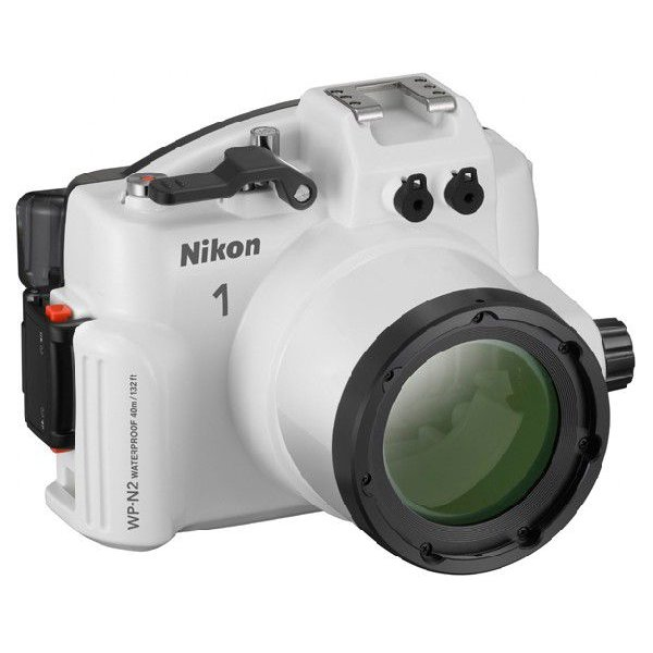 【送料無料】Nikon WP-N2 ウォータープルーフケース『2~3営業日後の発送』[水深40mまでの水圧に耐えることができるNikon 1 J3/S1用ウォータープルーフケース。]