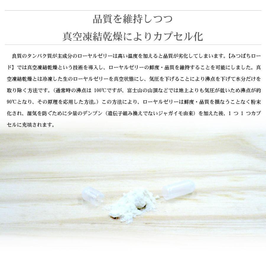 伝承 ローヤルゼリー (1袋/28球入) 人気 サプリ 養蜂場 ロイヤルゼリー 王乳 おまけ付|mitsubachi-road|08