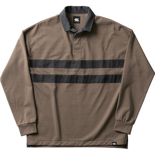 カンタベリー CANTERBURY ロングスリーブ ドライミックスラガーシャツ (ユニセックス) L/S DRYMIX RUGGER SHIRT RA49562-61