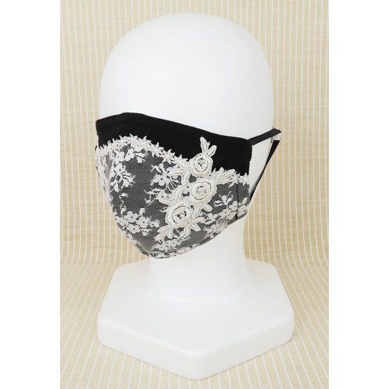 Perimurmur(ピアリマーマ)/マスク/黒xベージュ/KN7817|mitsuki-web|02