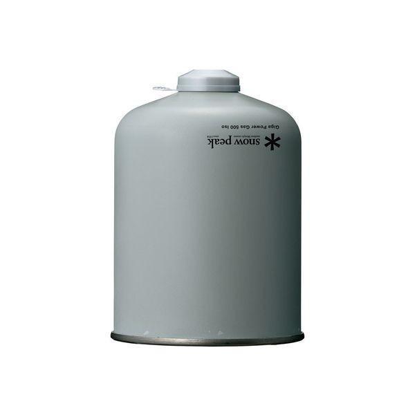 スノーピーク ガス ギガパワーガス 500 イソ GP-500SR アウトドア OD缶 キャンプ お1人様2点限り