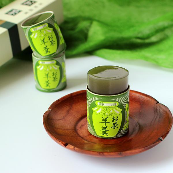 お茶羊羹5個袋入り 羊羹 和菓子 お菓子 筒羊羹 デザート 老舗 miuraseika 02