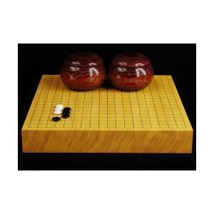 碁盤 新かや20号卓上松印蛤碁石Fセット