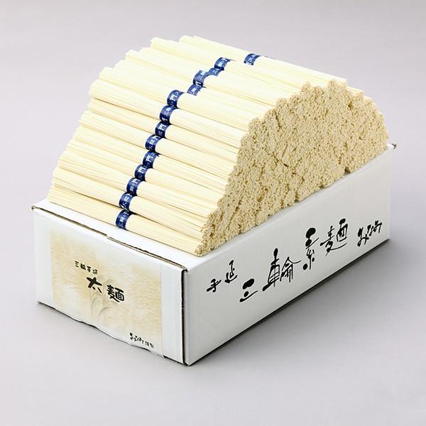 ひやむぎ (訳ありセール 格安) 太麺 50g×100束 5kg 段ボール箱 冷や麦 安値 三輪素麺みなみ 送料無料