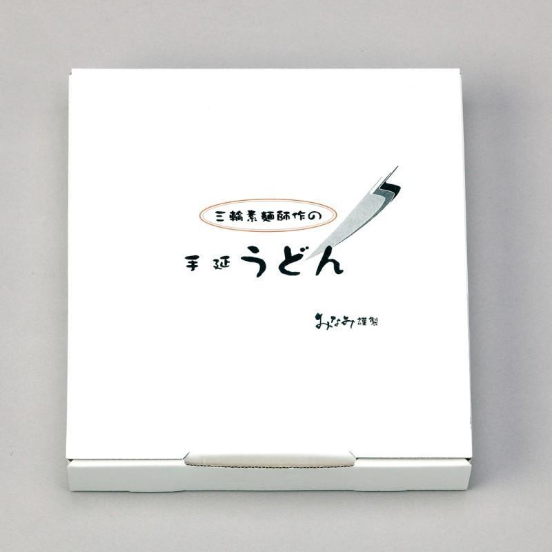 うどん 手延うどん 500g×2袋 三輪素麺みなみ 乾麺 家庭用 段ボール箱入り miwaminami-store 02