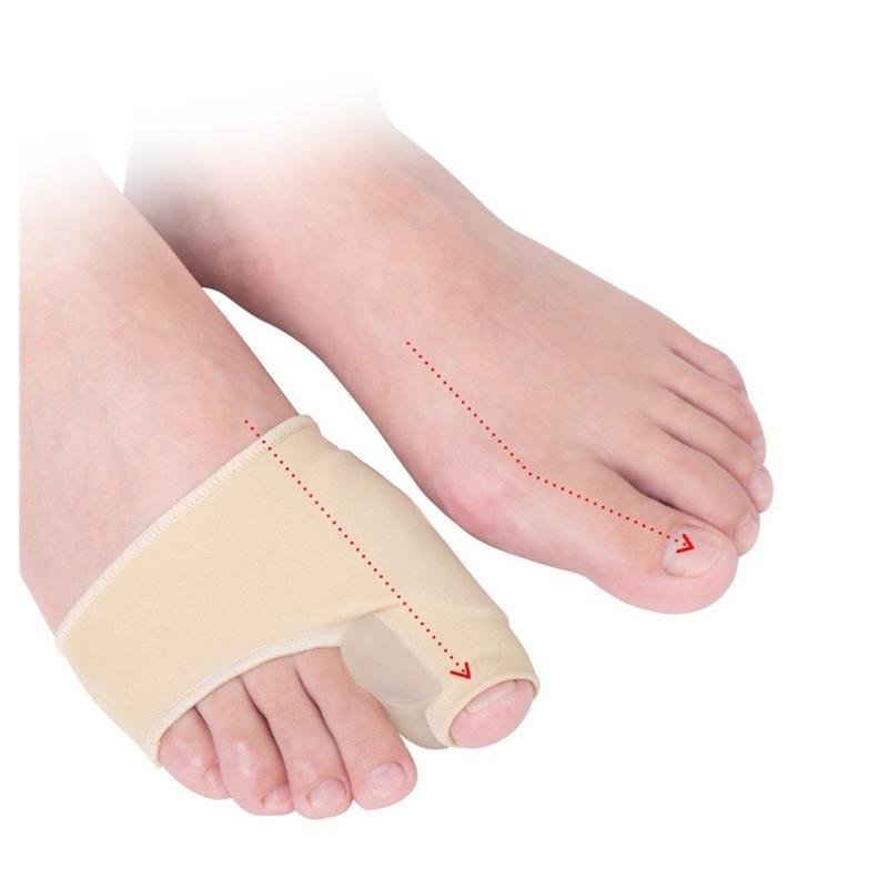外反母趾 矯正 サポーター ゆがみ シリコン 左右セット 種子骨 保護 サポーター 足裏 パッド クッション miwoli-y 09