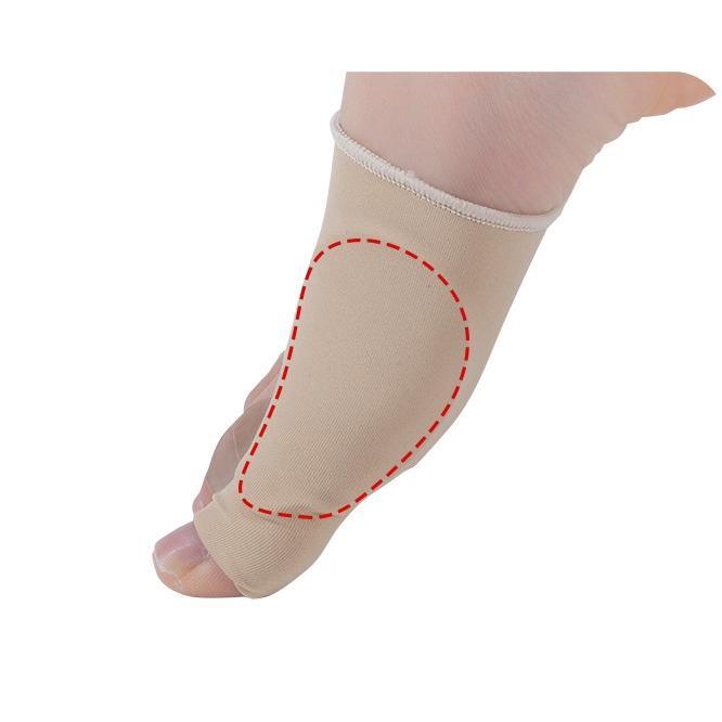 外反母趾 矯正 サポーター ゆがみ シリコン 左右セット 種子骨 保護 サポーター 足裏 パッド クッション miwoli-y 10